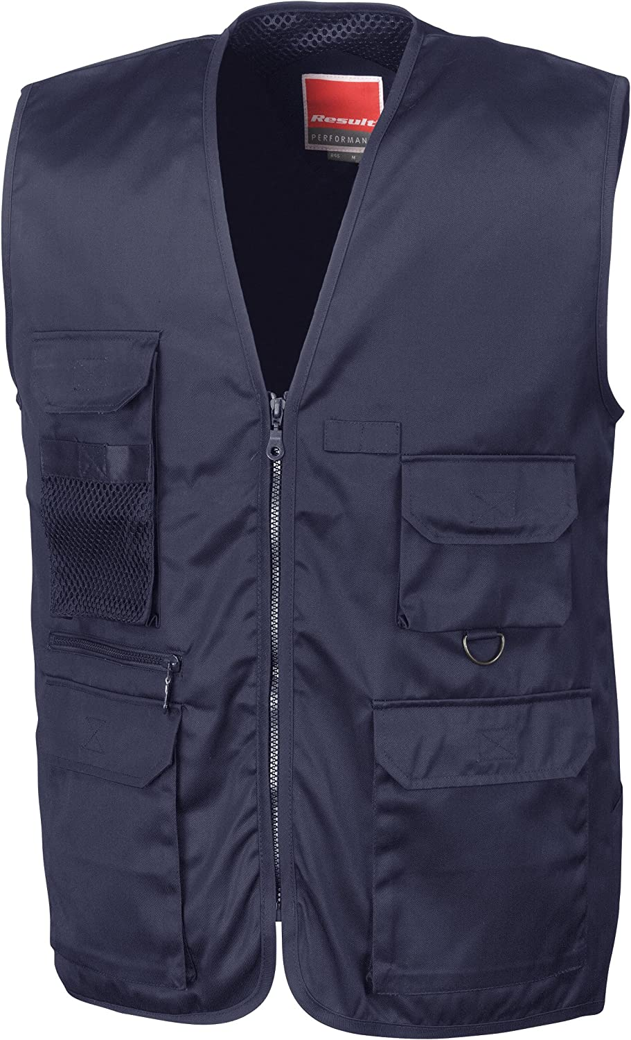 X-Large Result Mens Gilet Multicolour Extra Big