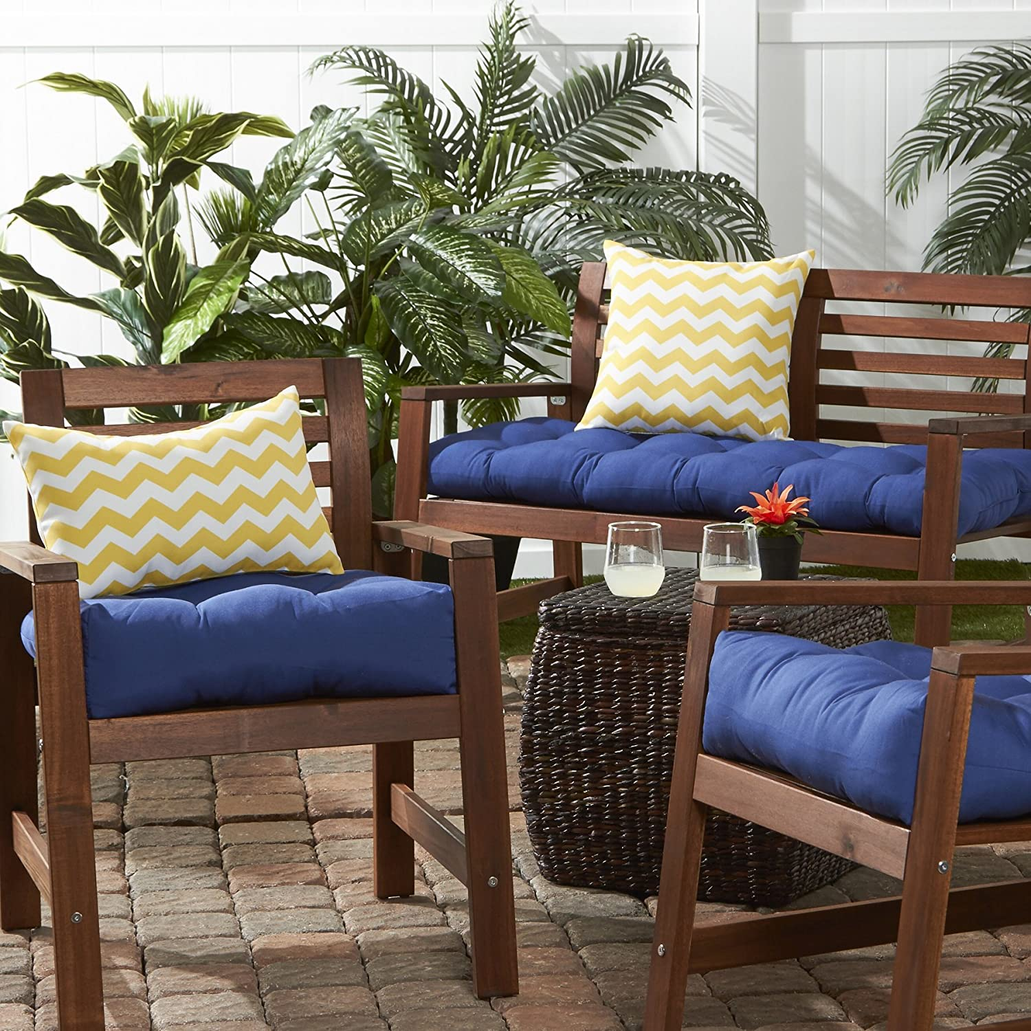 Amazon Greendale Home Fashions 20 Inch Indoor Outdoor Chair
