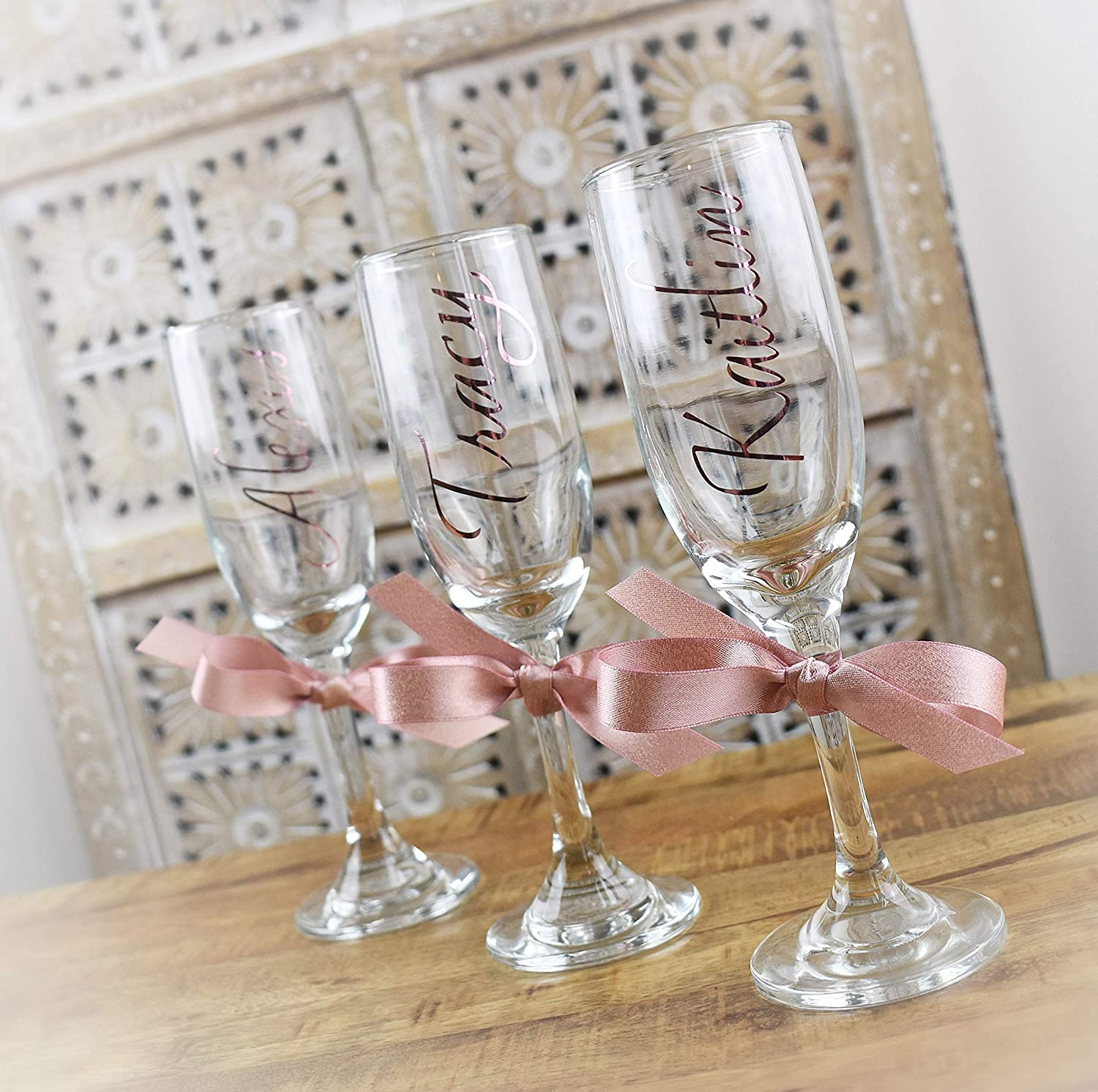 Polymer Clay Tutorial Engagement Gift Bride Gift Ideas Champagne Flutes DIY Wedding Gift Free Shipping DIY Bridal Party Wine Glass