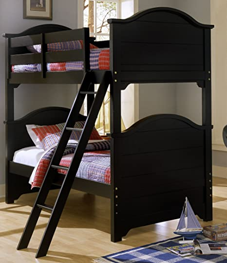 Amazon Com Cottage Bunk Bed Black By Vaughan Bassett Furniture