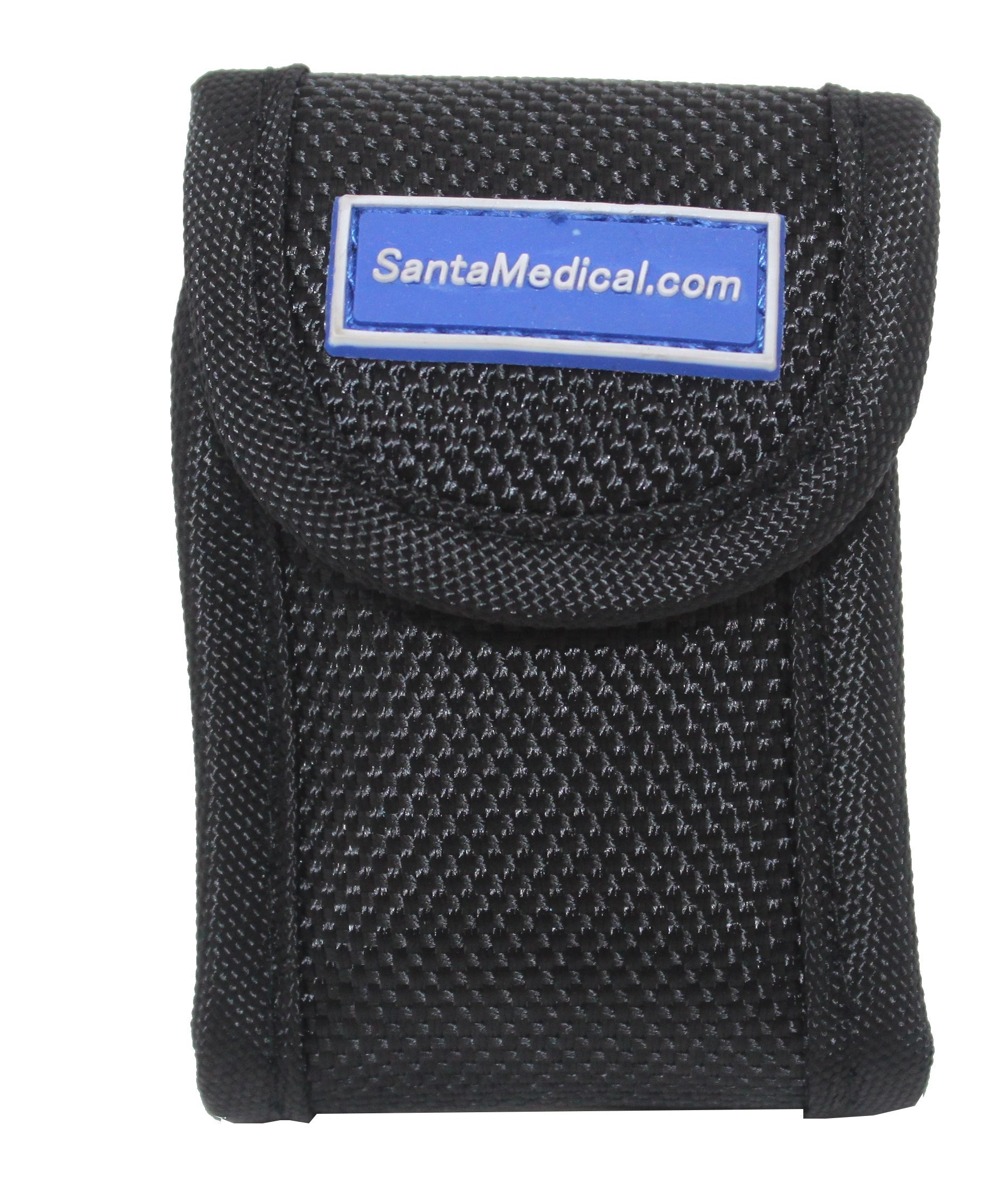 Santamedical Fingertip Pulse Oximeter SpO2 bag with Lanyard