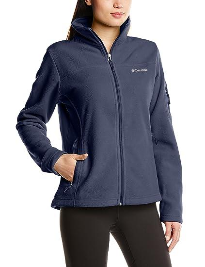 Columbia Fast Trek II chaqueta de la mujer, chaqueta, mujer, color Nocturnal, tamaño 1X
