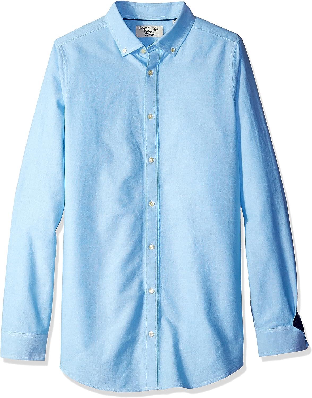 Original Penguin Mens Big-Tall Long Sleeve Oxford Button Down Shirt