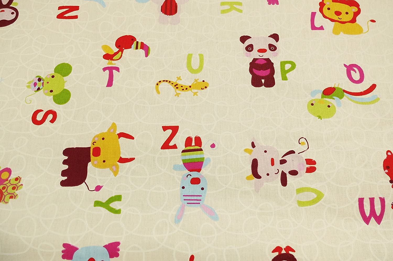 Ideenreich 2165 Krabbel und Spieldecke King Size Buchstaben 150 x 180 cm