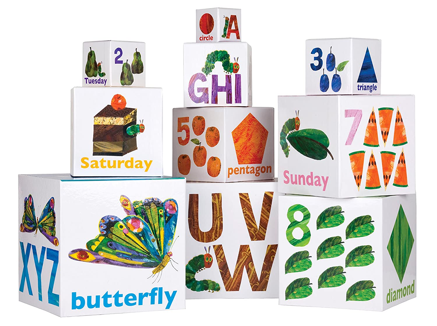 the world of eric carle the very hungry caterpillar stackable