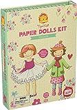 Tiger Tribe Paper Dolls Kit, Vintage Arts and Crafts