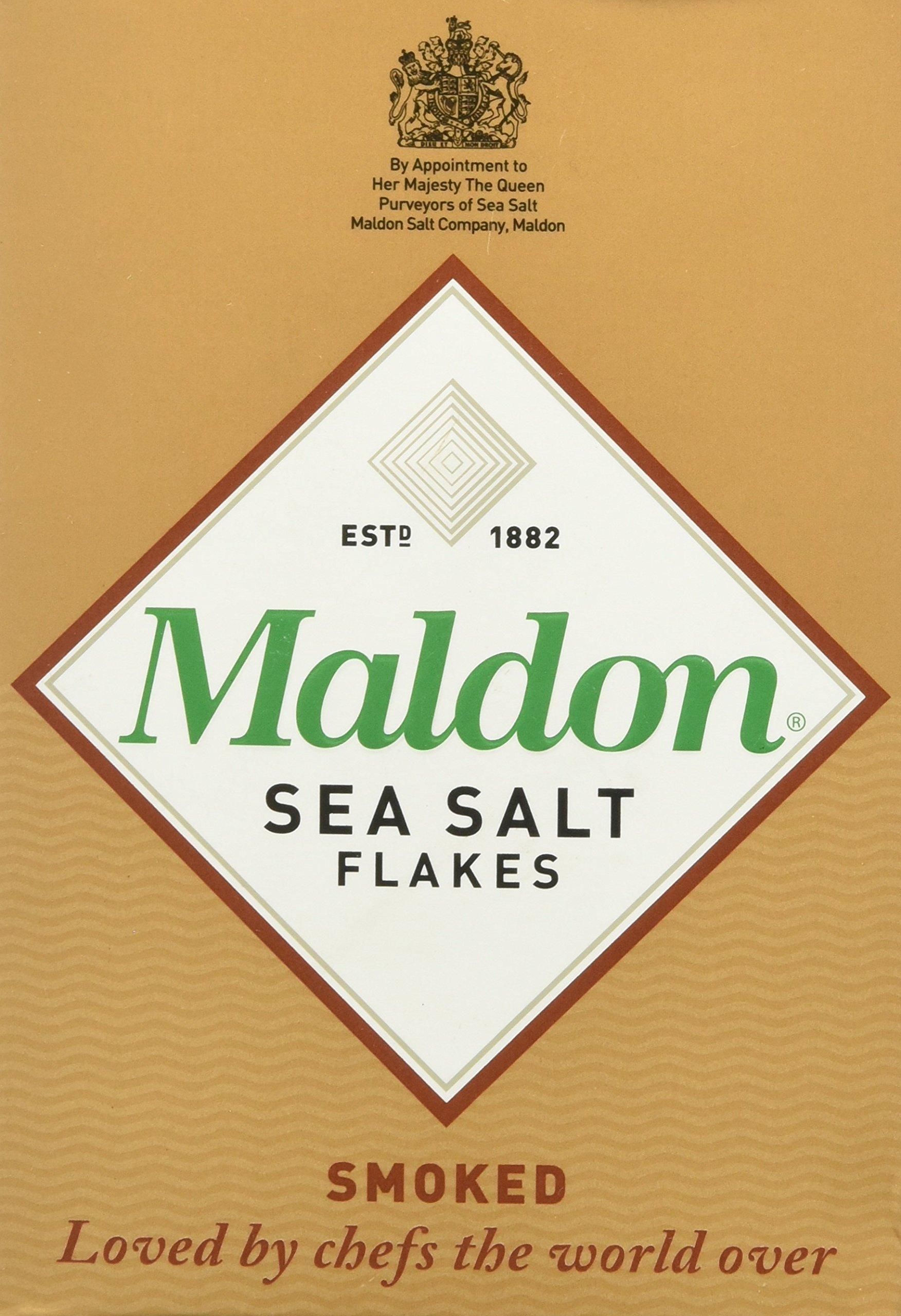 Maldon Smoked Sea Salt Flakes, 4.4 Ounce