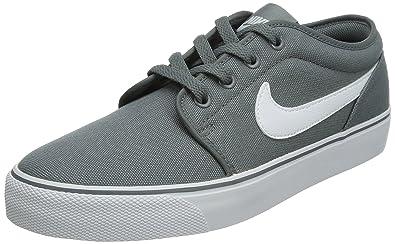 Nike Mens Toki Low Txt Casual Shoe Cool Grey/White 7.5 D(M)