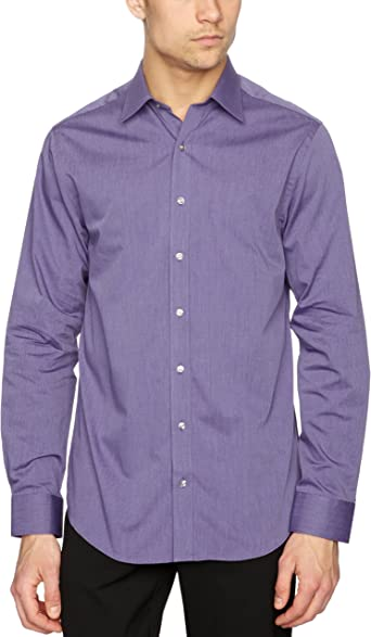 Pierre Cardin - Camisa de Manga Larga para Hombre, Talla 43 ...