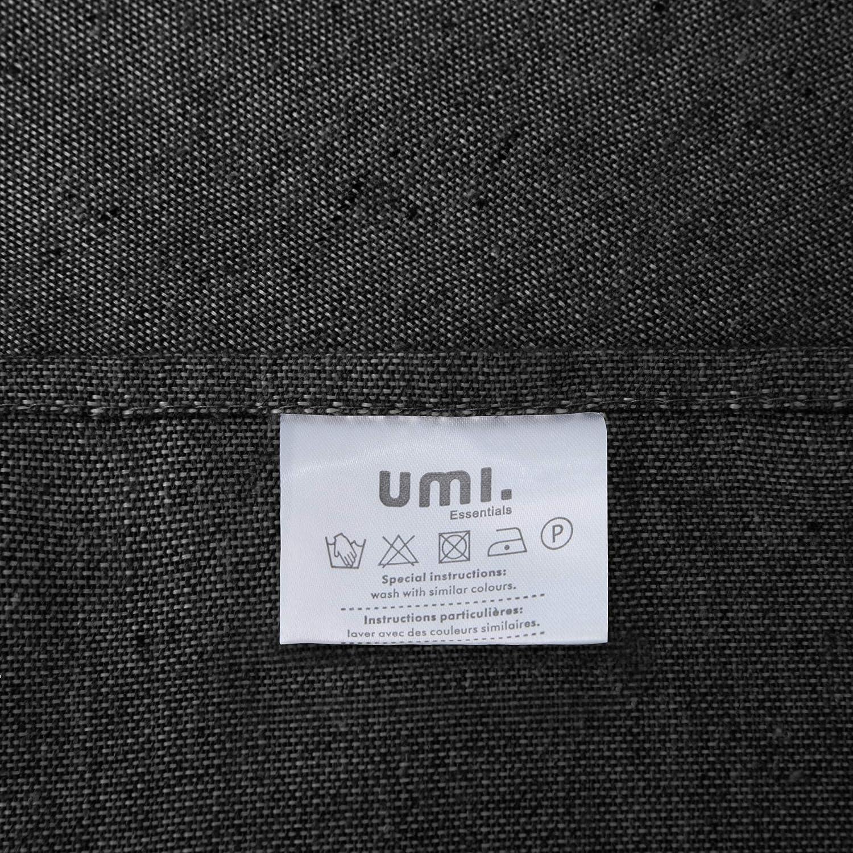 Essentials Nappe Rectangulaire Impermeable Rouge 130 /×280cm UMI