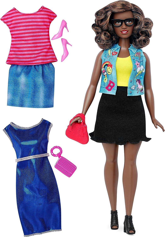 Amazon.es: Barbie Muñeca Fashionista, Look Intelectual (Mattel ...