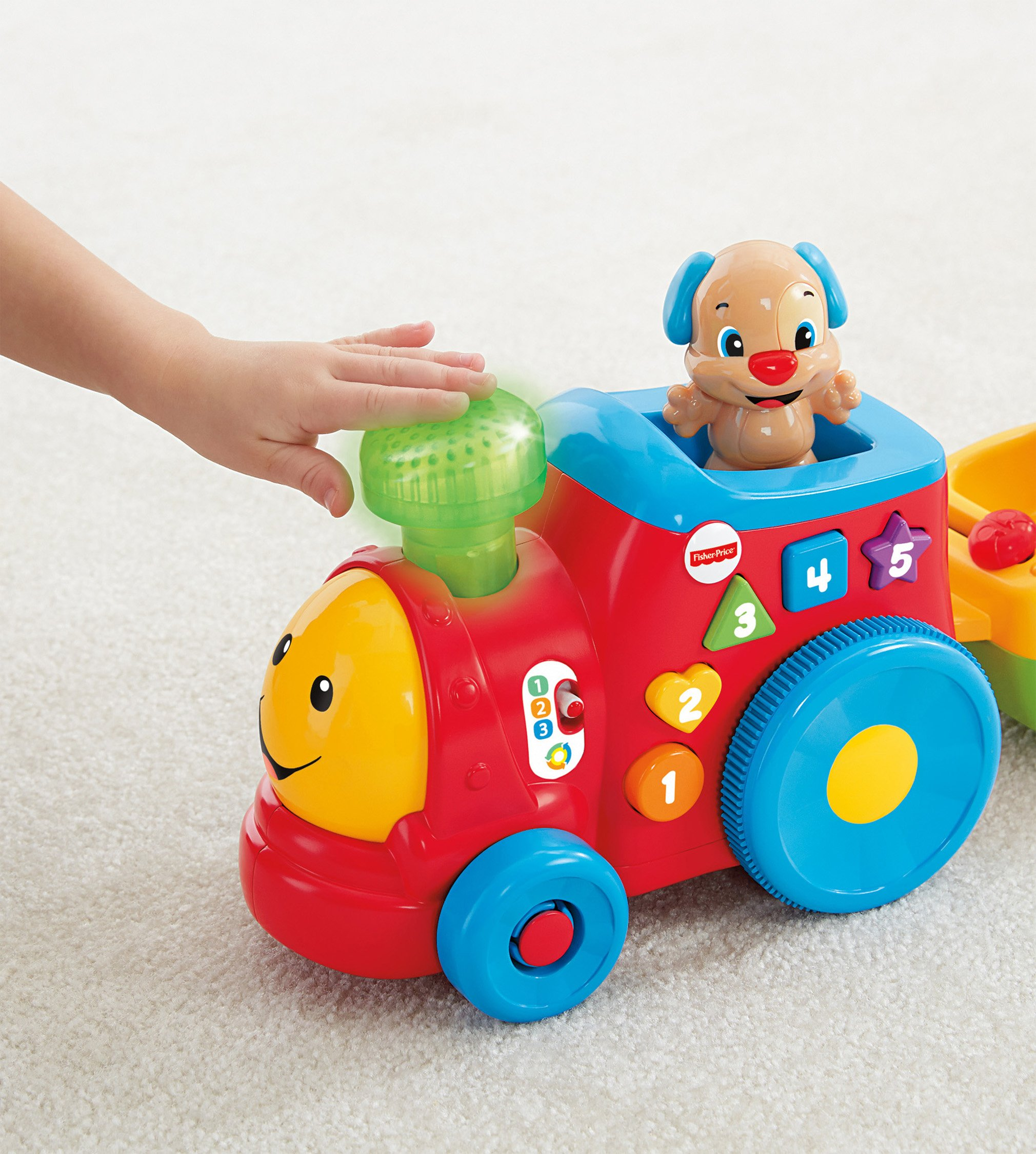 Fisher-Price Laugh & Learn Smart Stages Puppy's Smart Train by Fisher-Price (Image #14)