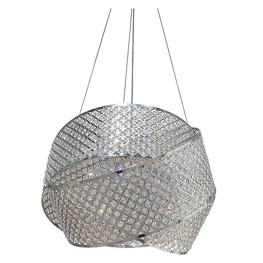 Amazon.com: Miami Beach - Lámpara de araña con 3 anillas ...