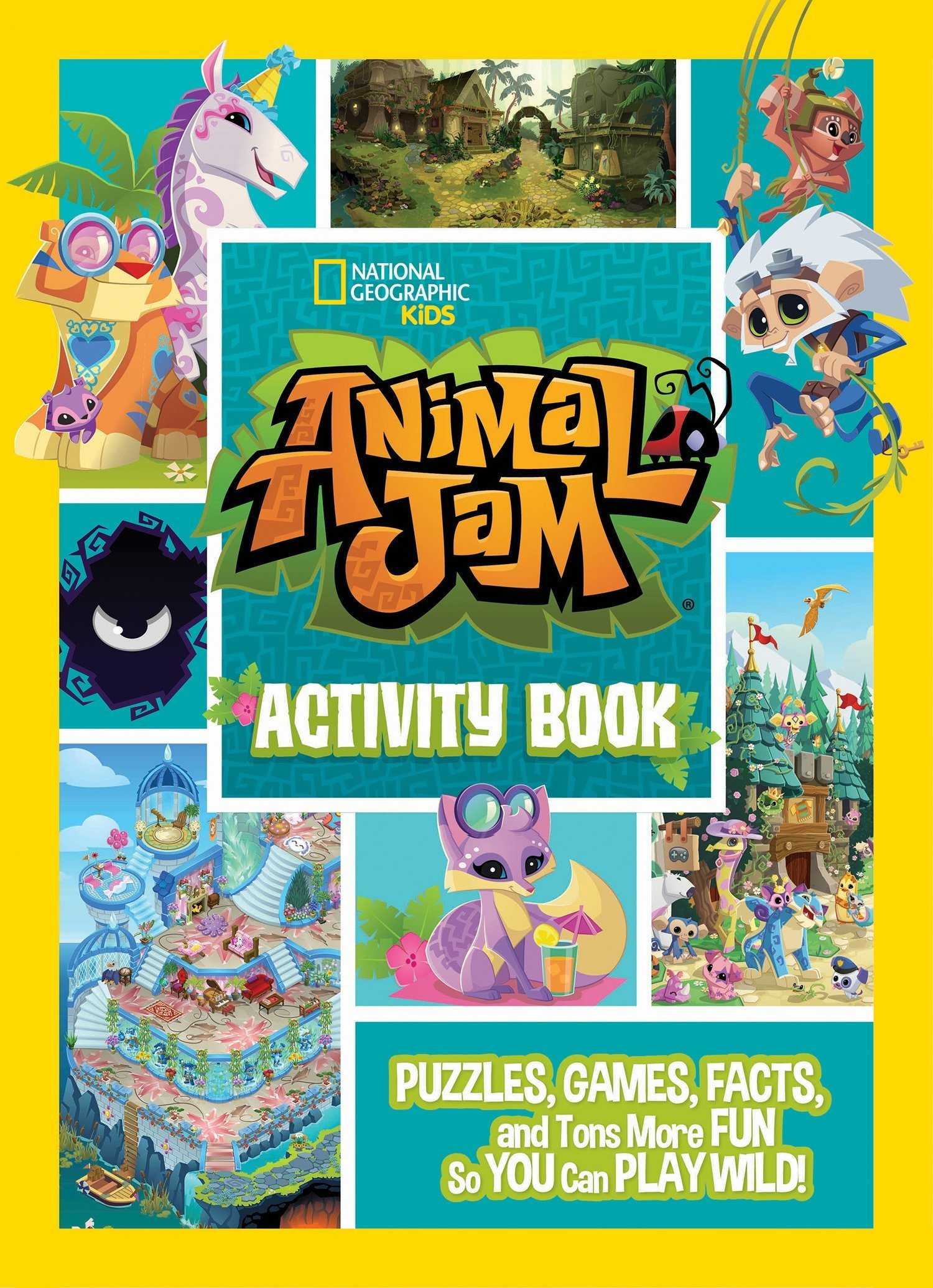 Animal Jam Activity Book by National Geographic Children's Books (Image #1)
