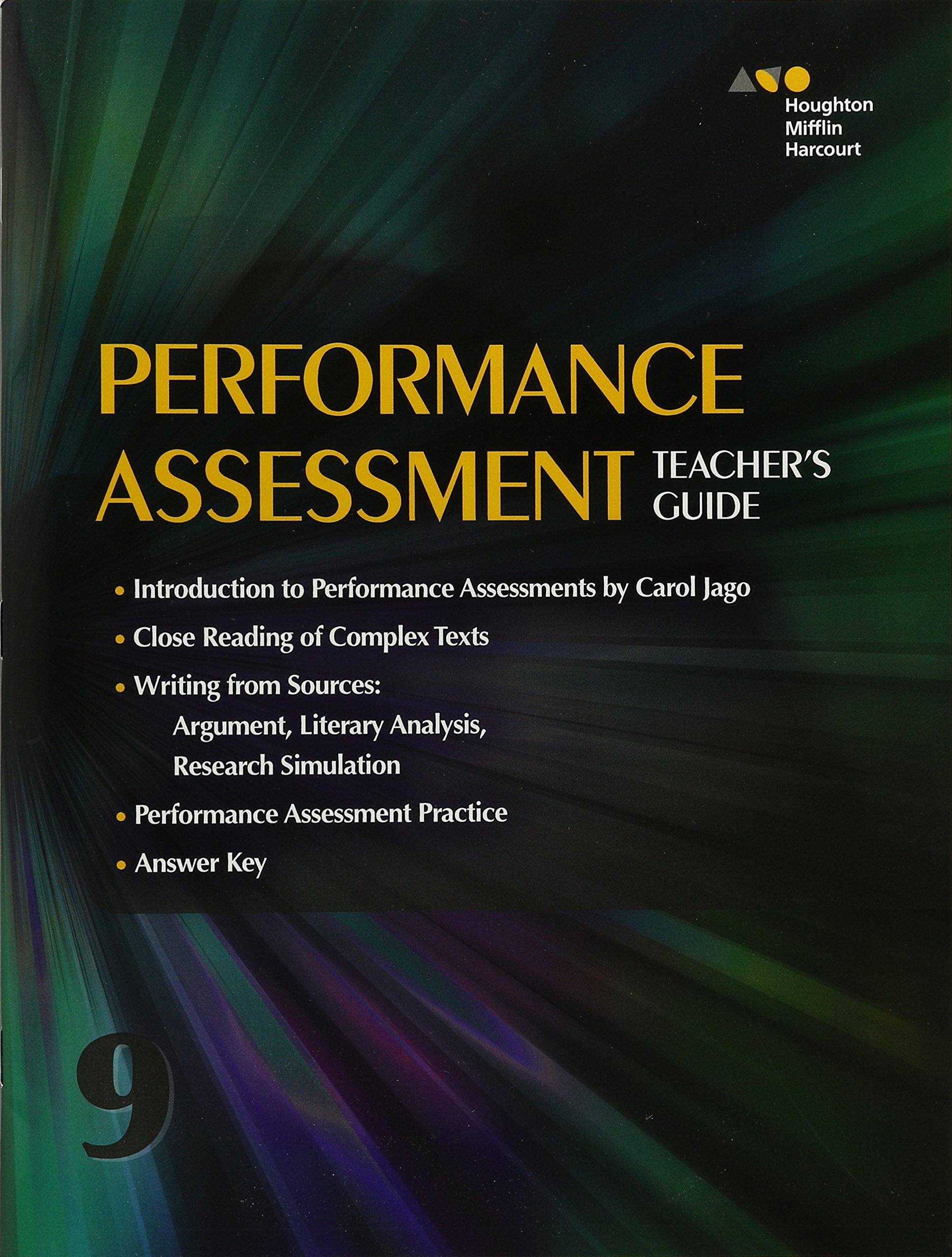 Collections: Performance Assessment Teacher's Guide Grade 9