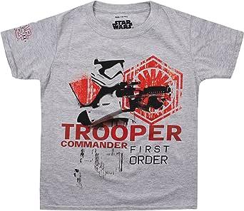 Star Wars Trooped Commander Camiseta para Niños