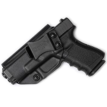 Glock 17 19 22 23 26 27 31 32 33 45 (Gen 1-5) IWB Holster - Combat Veteran  Owned Company - Inside The Waistband Concealed Carry - Adjustable Retention