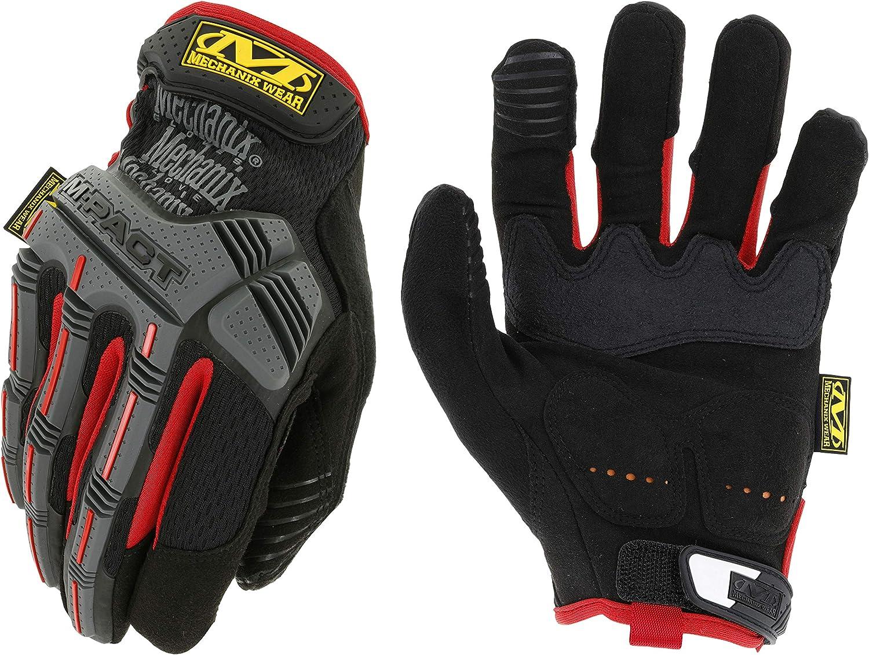 M-Pact Work Gants Mechanix Wear Noir//Rouge