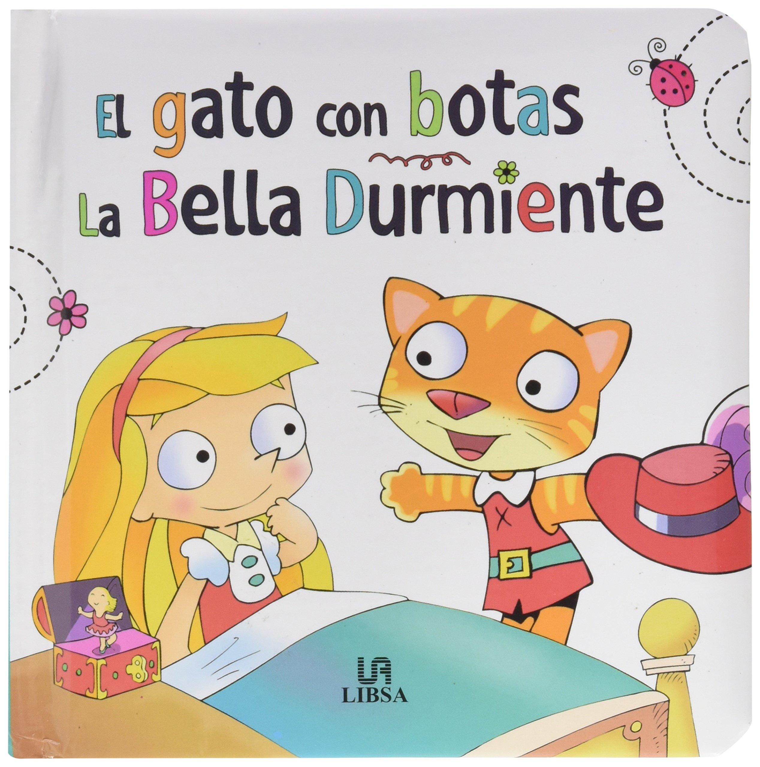 Gato con Botas. La Bella Durmiente (Spanish) Hardcover – November 15, 2016