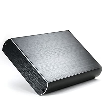 CSL - Carcasa de Aluminio USB 3.0 Super Speed para Disco Duro HDD de 3,5 Pulgadas SATA I II III - Aspecto Aluminio Cepillado- Compatible con USB 2.0 - ...