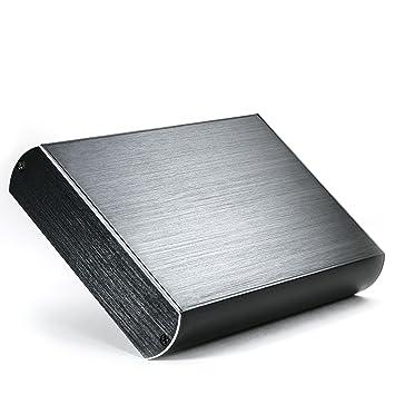 CSL - Carcasa de aluminio USB 3.0 (Super Speed) para disco duro HDD de 3,5