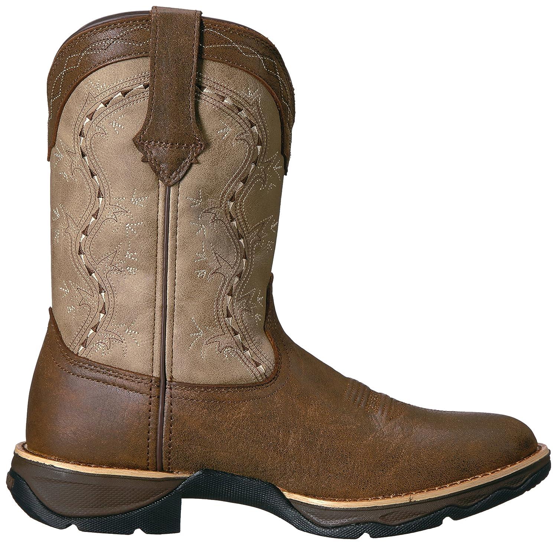 Durango Women's Drd0176 Western Boot B01HF79H0E 7.5 B(M) US|Dark Brown/Tan