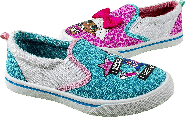 LOL Surprise Kids Led Light Shoes Trainers Sneaker Luminous Flyknit Sock Slip On