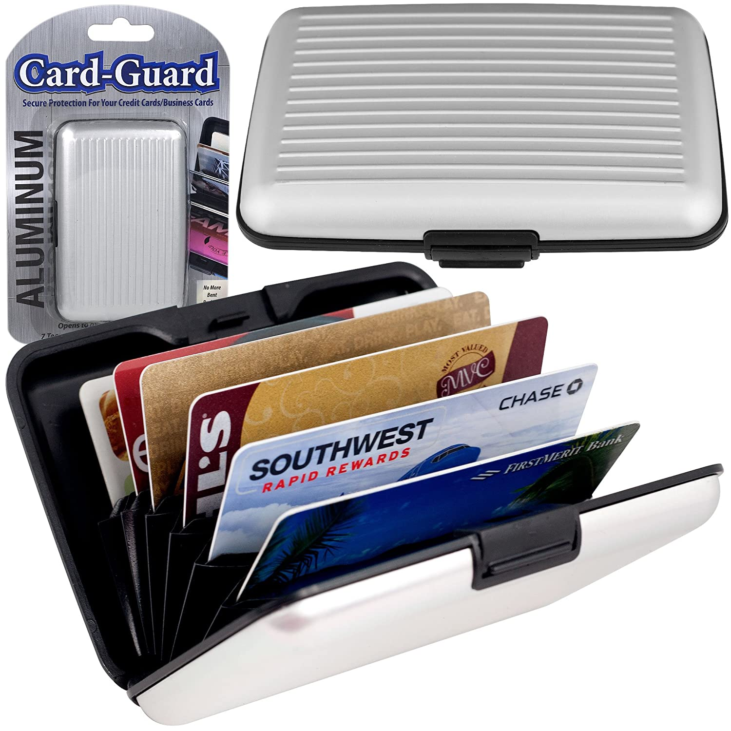 GPCT RFID Silver Aluminum Wallet for Men Would Make a Great Fathers ...