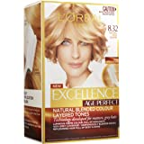 L'Oréal Paris Excellence Age Perfect Permananent Hair Colour - 8.32 Natural Rose Blonde (Natural Blended Colour)