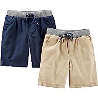 Simple Joys by Carter's pantalones cortos para niños pequeños, paquete de 2