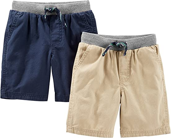 Simple Joys by Carter's Toddler Boys' 2-Pack Shorts