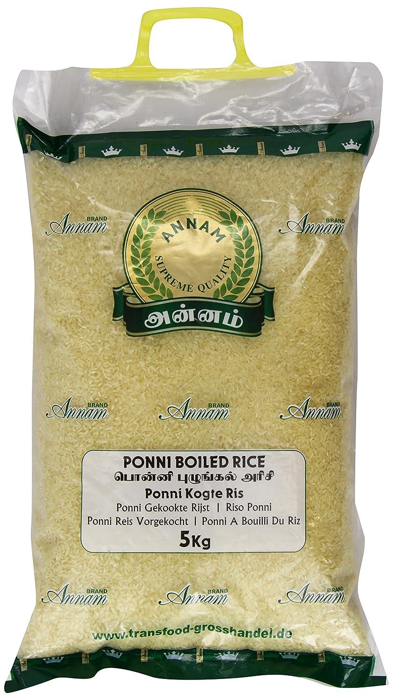 Svaad Ponni Boiled Rice 5 Kg: Amazon co uk: Grocery