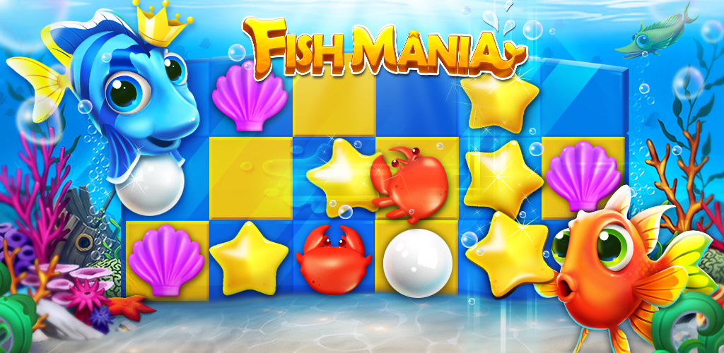Fish mania appstore for android for Fish mania game