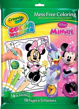 Amazon.com: Crayola Color Wonder Minnie Mouse: Toys & Games