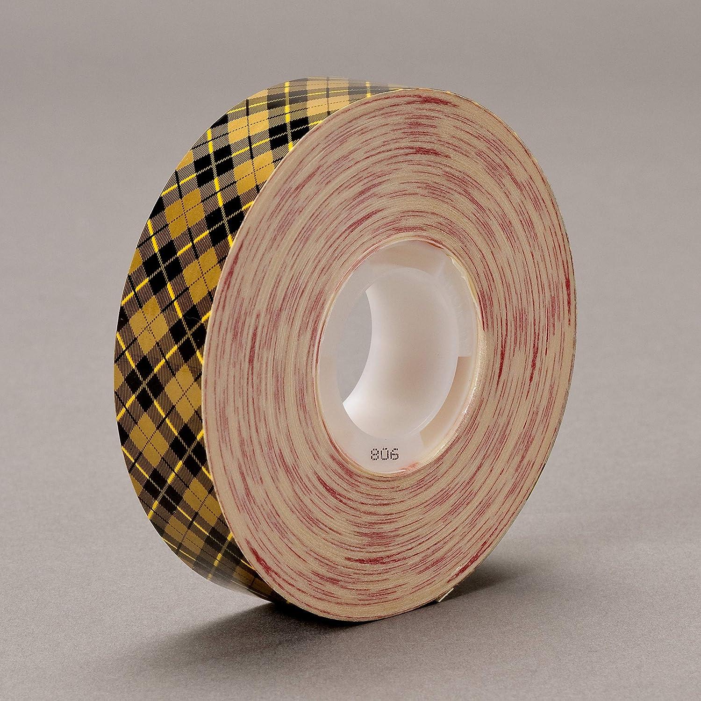 "3M Scotch 908 Gold ATG Acid-Free Adhesive Transfer Tape 3//4/"" x 36 yd Roll"