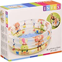 Intex 57106NP - Piscina hinchable colores con base