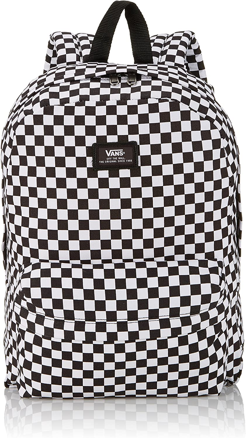 Vans - Old Skool II, Mochila Hombre, Multicolor (Black/White Check), Talla Unica