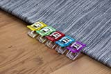 Sewing Clips - 200-Pack Multicolored Quilt