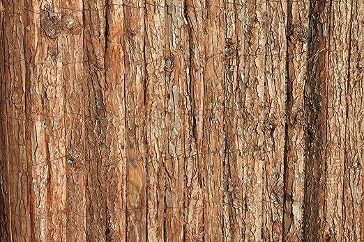 Heavy Duty Árbol corteza valla de jardín selección rollos 1, 2 m de alto y 3, 8 m de largo: Amazon.es: Jardín