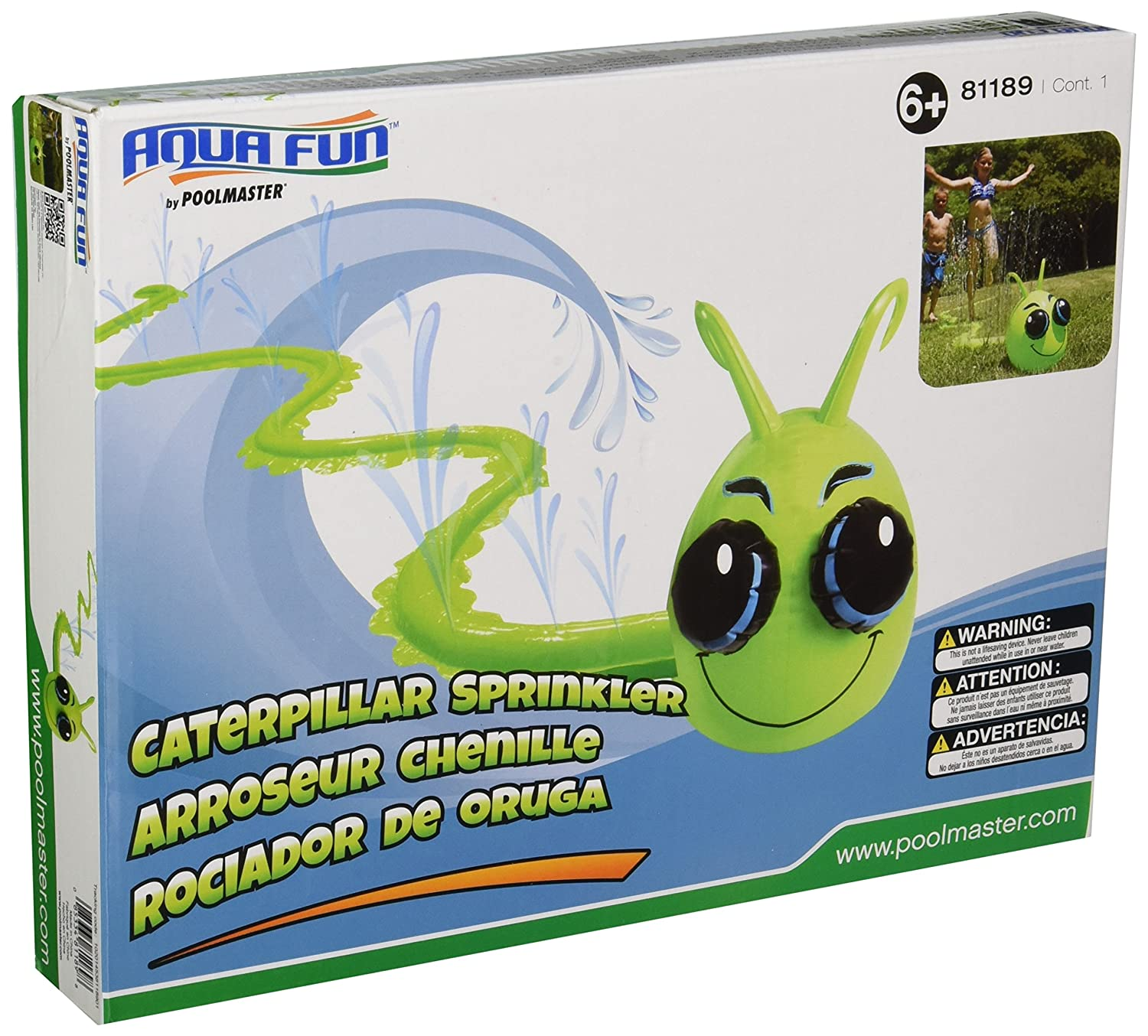 Poolmaster Caterpillar Sprinkler Toy