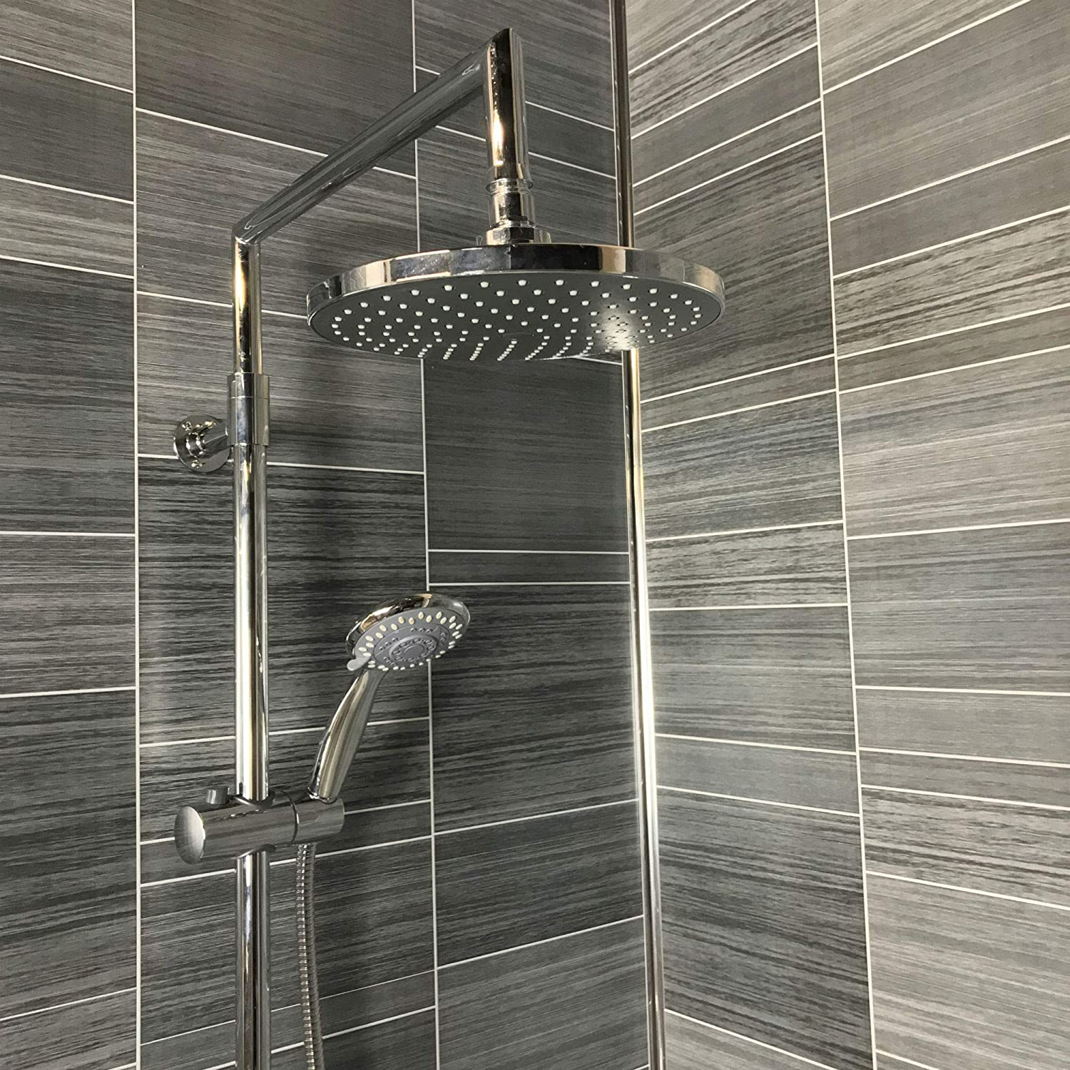 anthracite grey multi tile effect