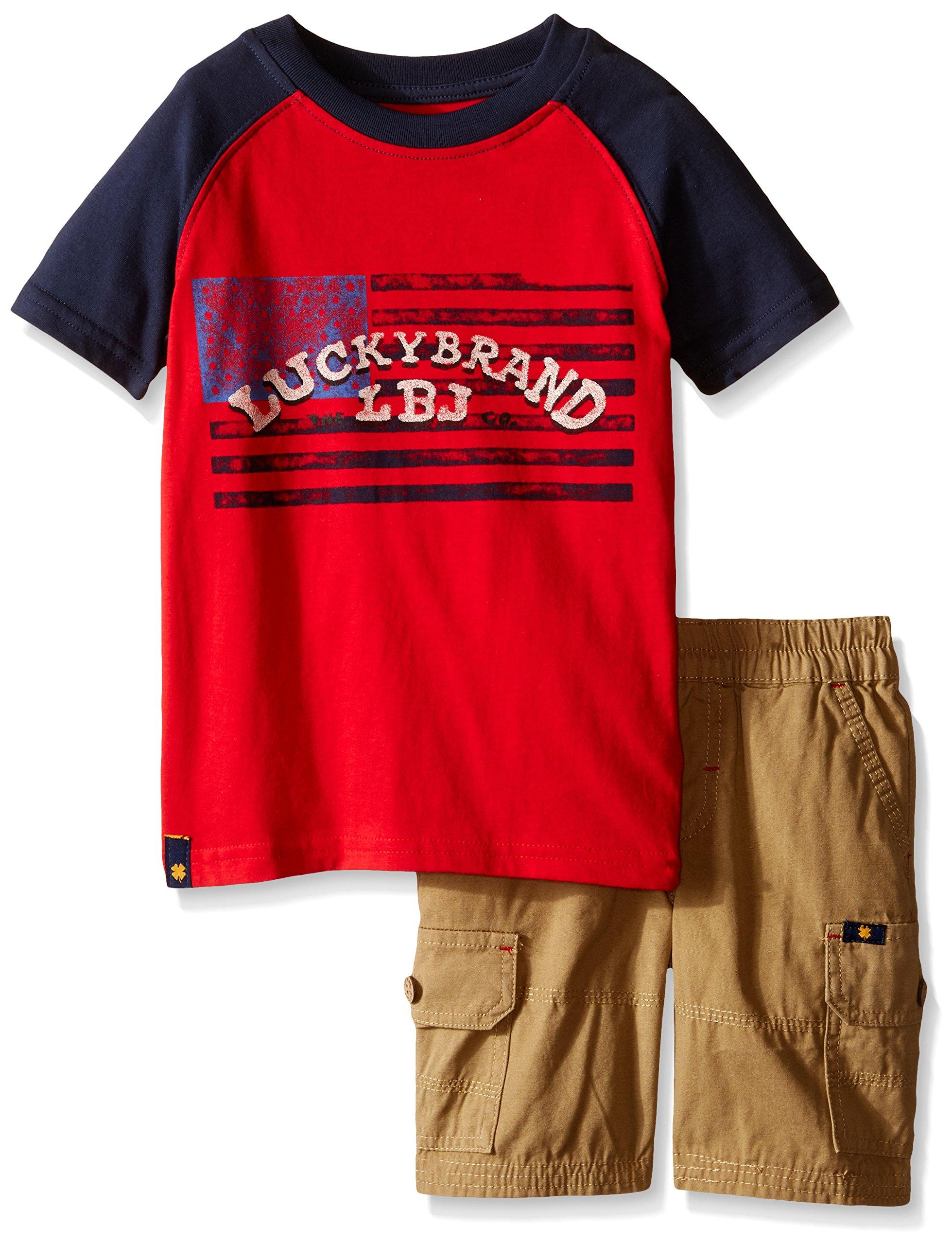 Lucky Brand Little Boys Good Luck Set, Formula, 4