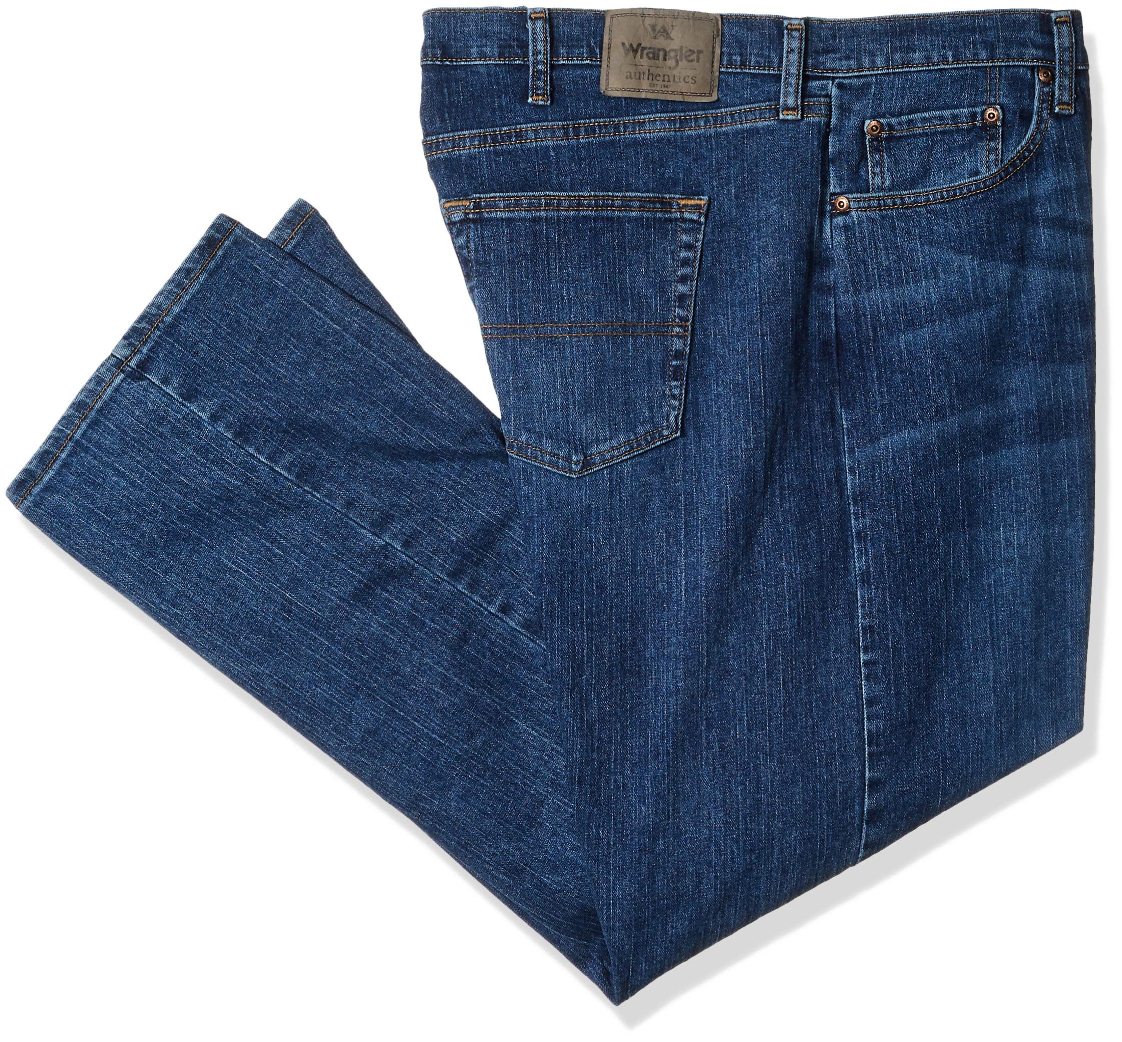 d40bacf6 Wrangler Authentics Men's Big and Tall Classic 5-Pocket Regular Fit Jean,
