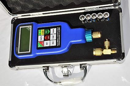 Amazon com: Deep Vacuum Micron Gauge/Digital Meter: AC HVAC Air