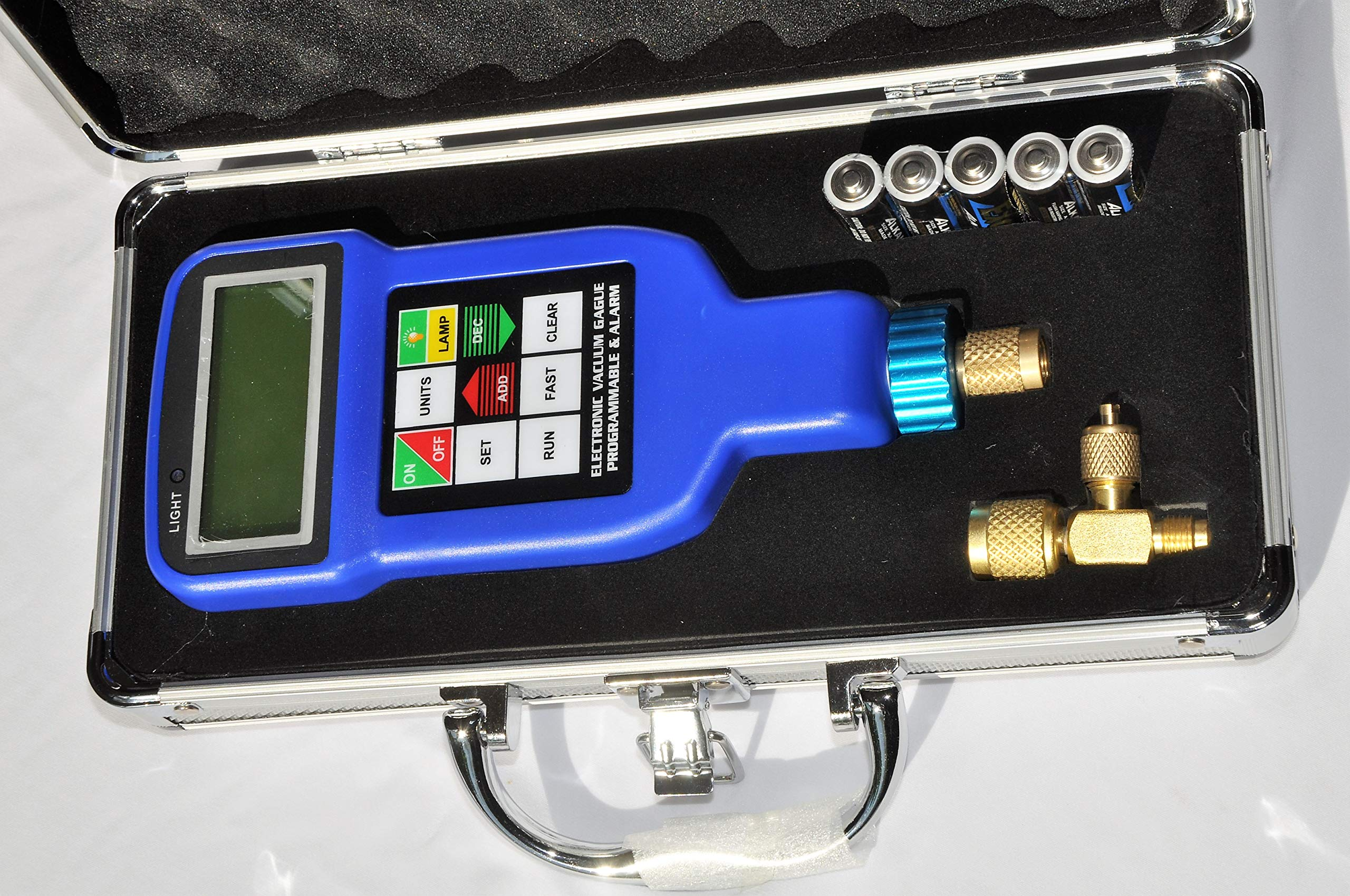 Deep Vacuum Micron Gauge/Digital Meter: AC HVAC Air Condition Refrigeration System Evacuation Optimum Test Tool, Most Accurate on The Market by VIOT (Image #1)