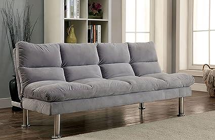 Marvelous Amazon Com Furniture Of America Cm2902Gy Saratoga Furniture Short Links Chair Design For Home Short Linksinfo