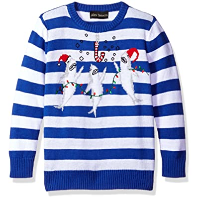 Alex Stevens Boys' Shark Party Sweater