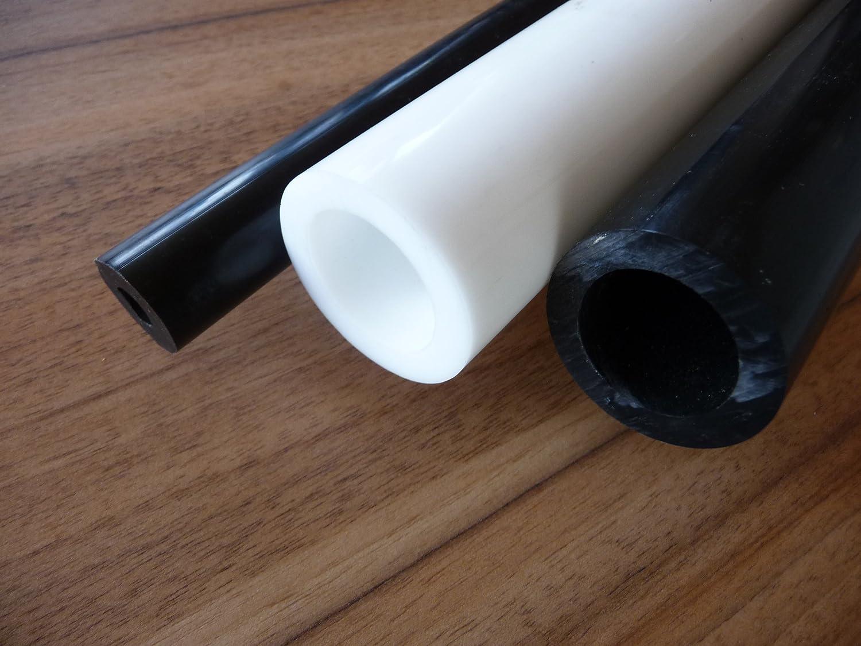 POM Joncs creux blanc /Ø 40 x 30 mm longueur 500 mm barre POM alt-intech/®