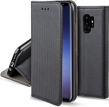 Moozy Funda para Samsung S9 Plus, Negra: Amazon.es: Electrónica