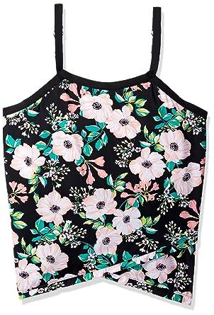 633867f23a84b Shape Solver Women s Swimsuit Glam Squad Cross Over Hem Tankini Top-Plus  Size